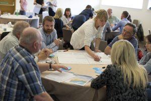 10/07/2015 Pics (C) Huw John, Cardiff. MANDATORY BYLINE - Huw John, Cardiff Tidal Lagoon meeting at Wales Millennium Centre, Cardiff Bay Twitter: @huwjohnpics mail: mail@huwjohn.com Web: www.huwjohn.com